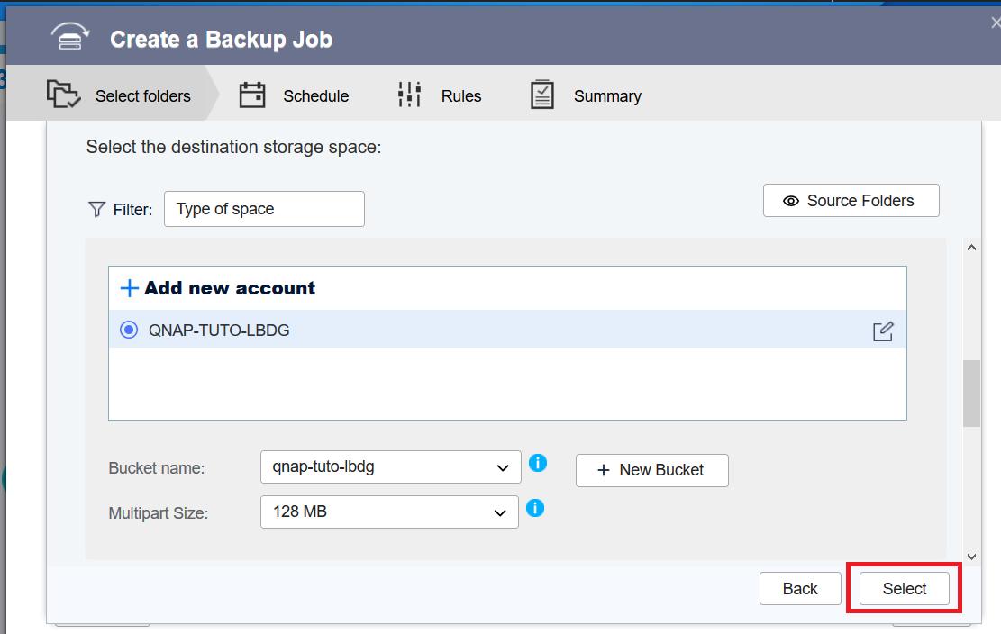 QNAP - Hybrid Backup Sync 3 0 to BackBlaze B2